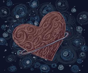 Heart shaped planet