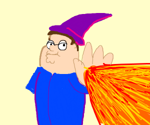 Mage peter griffin