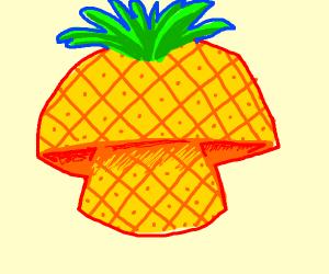 muashroom that is a pineapple