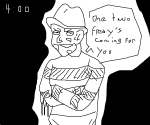 Five nights at Freddy Krugers