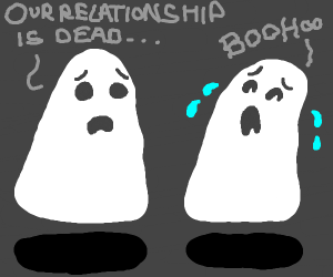 Ghost breakup