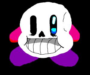 Sans is shaped like Kirby