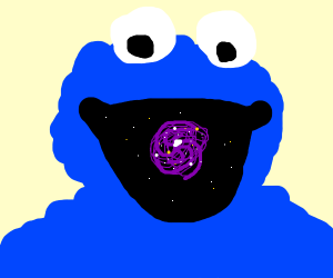 The Cookie Monster consumes all