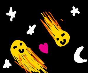 meteors in love