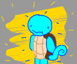 Glowing Squirtle