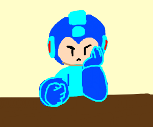 mega man frustrated