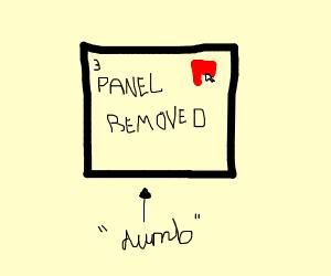 Removing panels is dumb