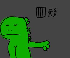 Godzilla refuses to be captured