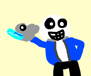 Sans is officially down to smash