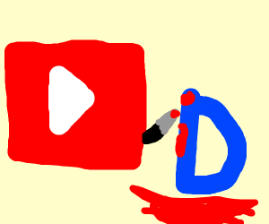 Youtube puts Drawception D down