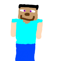 2d Minecraft steve