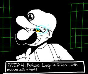 Step 3 It turn on that Sans is Luigi