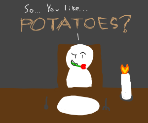 Conversation starters about..potatoes.