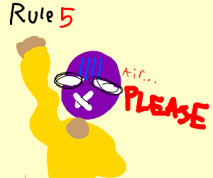 Rule #5 No Breathing