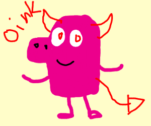 peppa the demon
