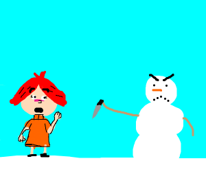 snowman stabs you in the back