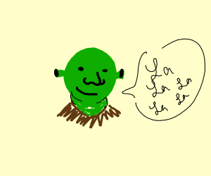 Shrek la la la