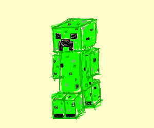 Creeper with arms