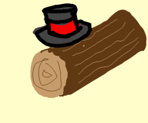 Top Hat On a Log