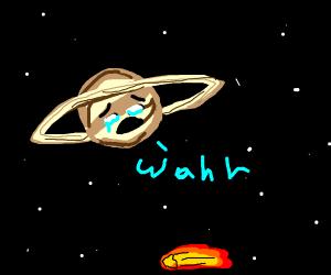 Saturn is hurt