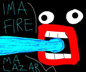 IMA FIRE MA LAZER