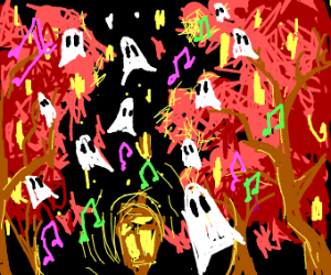 Biggest ghost party of the fall
