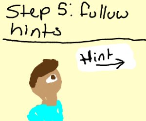 Tip step 4 hints