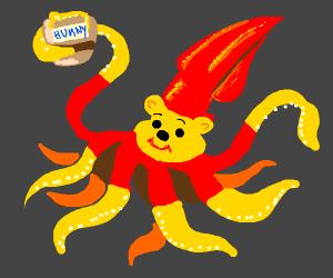 winnie the squid