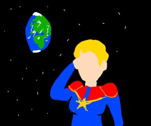 captain marvel listens to 90's music