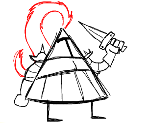 Triangle Knight