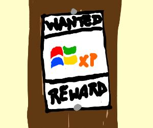 Windows XP Wanted