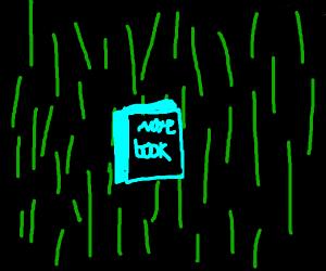 Notebook in the Matrix