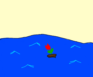 A Plant crossing the Ocean
