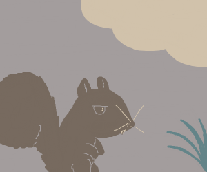 Disgruntled Squirrel