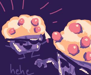 Muffins behaving badly