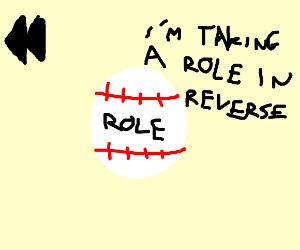 Reversed Role Baseball
