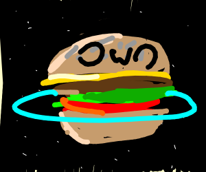 Hamburger planet, kind of sexy