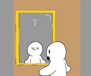 UwU  faces in the mirror