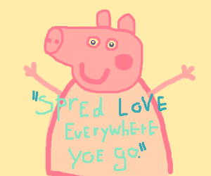 Wholesome Peppa Pig
