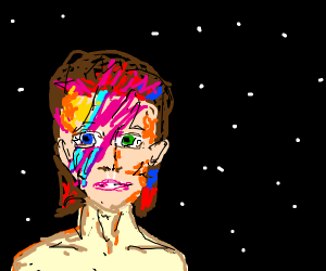 David Bowie in space.