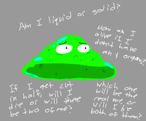Slime has existential crisis