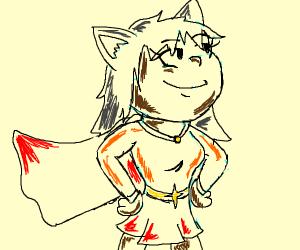 Mighty neko girl