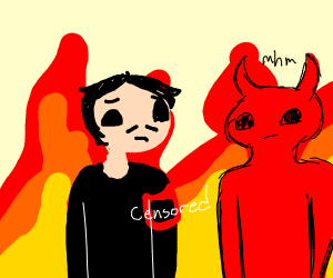 Hitler and Satan have conversation in Hell