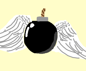 spherical bomb angel