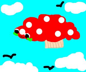 Sick mushroom cloud