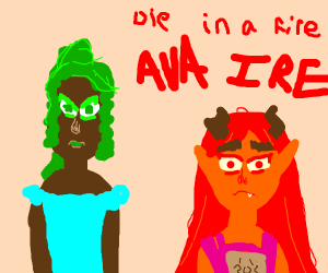 Ava's Demon Maggie and Ava