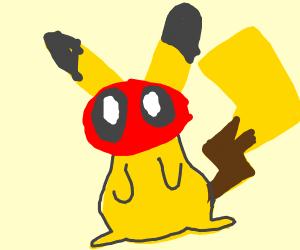Pikachu is deadpool