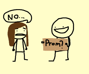 girl says no to prom, f