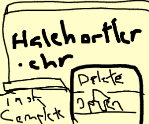 HaleHortler.chr deleted successfully