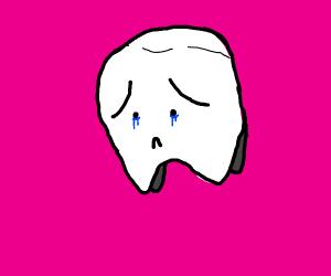 sad tooth :'(